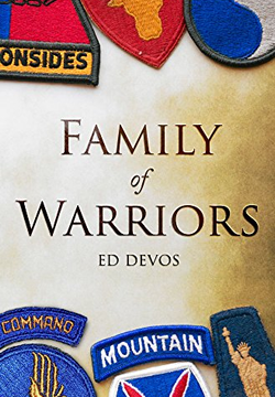 Cover image of Family of Warriors by Ed DeVos.
